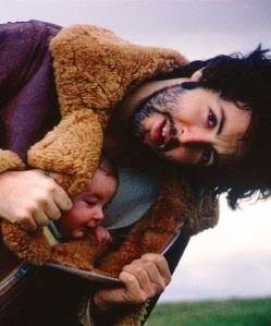 I am not the hugest beatles fan but Paul McCartney and his bebe are damn cute.